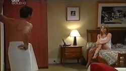 Paul Robinson, Izzy Hoyland in Neighbours Episode 4688
