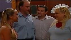 "Molly Milevic, Tim Collins, Toadie Rebecchi, Genevieve ""Eva"" Doyle in Neighbours Episode 4688"