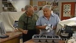 Harold Bishop, Lou Carpenter in Neighbours Episode 4688
