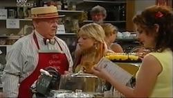 Harold Bishop, Sky Mangel, Liljana Bishop in Neighbours Episode 4688