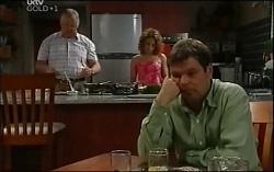 Harold Bishop, Serena Bishop, David Bishop in Neighbours Episode 4711
