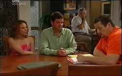 Serena Bishop, David Bishop, Harold Bishop, Toadie Rebecchi in Neighbours Episode 4711