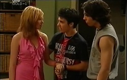 Janae Timmins, Stingray Timmins, Dylan Timmins in Neighbours Episode 4714