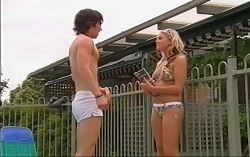 Dylan Timmins, Sky Mangel in Neighbours Episode 4715