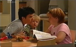 Stingray Timmins, Oscar Scully, Bree Timmins in Neighbours Episode 4715