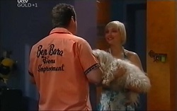 Toadie Rebecchi, Bob, Sindi Watts in Neighbours Episode 4715