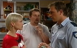 Sindi Watts, Toadie Rebecchi, Stuart Parker in Neighbours Episode 4716