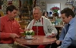David Bishop, Harold Bishop, Toadie Rebecchi in Neighbours Episode 4716