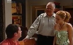 David Bishop, Harold Bishop, Serena Bishop in Neighbours Episode 4717