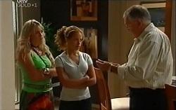 Sky Mangel, Serena Bishop, Harold Bishop in Neighbours Episode 4723