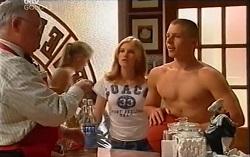 Harold Bishop, Janae Timmins, Boyd Hoyland in Neighbours Episode 4723