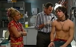 Sky Mangel, Karl Kennedy, Dylan Timmins in Neighbours Episode 4724