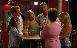 Summer Hoyland, Max Hoyland, Steph Scully, Bobby Hoyland, Lyn Scully, Izzy Hoyland in Neighbours Episode 4724