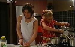 Dylan Timmins, Sky Mangel in Neighbours Episode 4724
