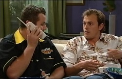 Toadie Rebecchi, Stuart Parker in Neighbours Episode 4938