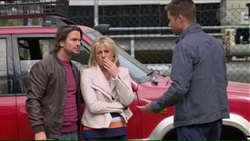 Brad Willis, Lauren Turner, Mark Brennan in Neighbours Episode 7271
