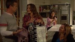 Paul Robinson, Amy Williams, Imogen Willis, Terese Willis in Neighbours Episode 7272