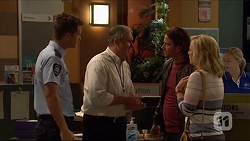Mark Brennan, Karl Kennedy, Brad Willis, Lauren Turner in Neighbours Episode 7273