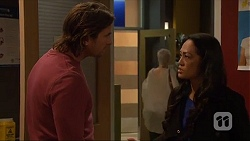 Brad Willis, Michelle Kim in Neighbours Episode 7273