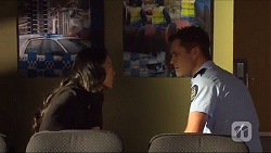 Michelle Kim, Mark Brennan in Neighbours Episode 7273