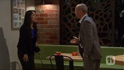 Michelle Kim, Dennis Dimato in Neighbours Episode 7273