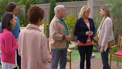 Brad Willis, Imogen Willis, Susan Kennedy, Lou Carpenter, Lauren Turner, Amber Turner in Neighbours Episode 7275