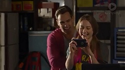 Aaron Brennan, Piper Willis in Neighbours Episode 7275