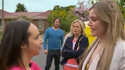 Imogen Willis, Brad Willis, Lauren Turner, Amber Turner in Neighbours Episode 7275