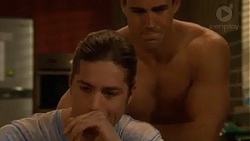 Tyler Brennan, Aaron Brennan in Neighbours Episode 7275