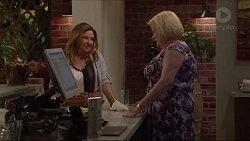 Terese Willis, Sheila Canning in Neighbours Episode 7276