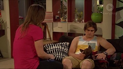 Amy Williams, Kyle Canning, Bossy in Neighbours Episode 7276