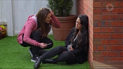 Paige Smith, Michelle Kim in Neighbours Episode 7277
