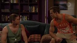 Tyler Brennan, Aaron Brennan in Neighbours Episode 7277