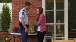 Mark Brennan, Paige Novak in Neighbours Episode 7277