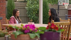 Paige Novak, Michelle Brown in Neighbours Episode 7277