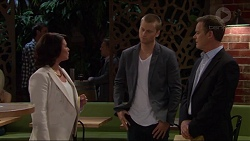 Julie Quill, Daniel Robinson, Paul Robinson in Neighbours Episode 7277