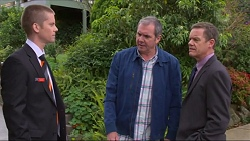 Daniel Robinson, Karl Kennedy, Paul Robinson in Neighbours Episode 7278