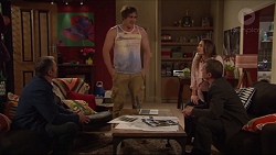 Karl Kennedy, Kyle Canning, Amy Williams, Paul Robinson in Neighbours Episode 7278