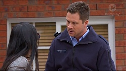 Michelle Kim, Mark Brennan in Neighbours Episode 7278