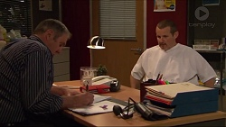 Karl Kennedy, Toadie Rebecchi in Neighbours Episode 7278
