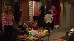 Amy Williams, Paul Robinson, Jimmy Williams, Sheila Canning in Neighbours Episode 7279