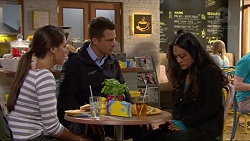 Paige Smith, Mark Brennan, Michelle Kim in Neighbours Episode 7280