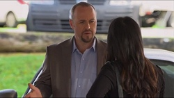 Dennis Dimato, Michelle Kim in Neighbours Episode 7280
