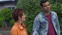 Susan Kennedy, Nate Kinski in Neighbours Episode 7280