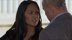Michelle Kim, Dennis Dimato in Neighbours Episode 7280