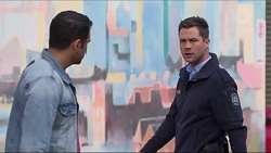 Nate Kinski, Mark Brennan in Neighbours Episode 7280