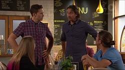 Josh Willis, Brad Willis, Piper Willis, Tyler Brennan in Neighbours Episode 7281