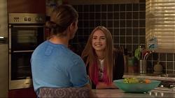 Tyler Brennan, Piper Willis in Neighbours Episode 7281