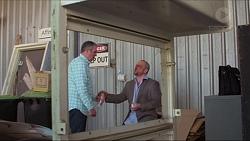 Karl Kennedy, Dennis Dimato in Neighbours Episode 7281