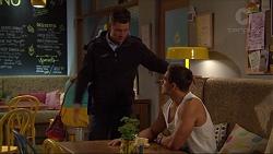 Mark Brennan, Aaron Brennan in Neighbours Episode 7282
